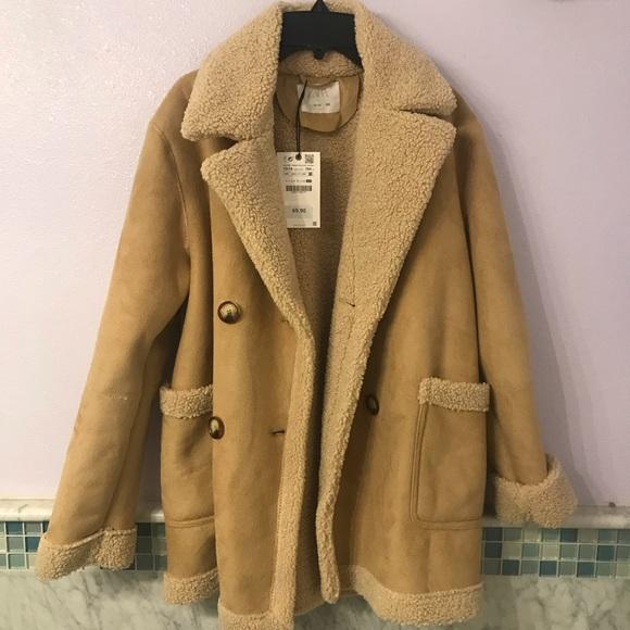 Zara Other - Zara Kids Sherpa Jacket Coat (Fit Women XS S M)